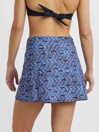 Aquamini Skirt - Shibori Mini: Image 3
