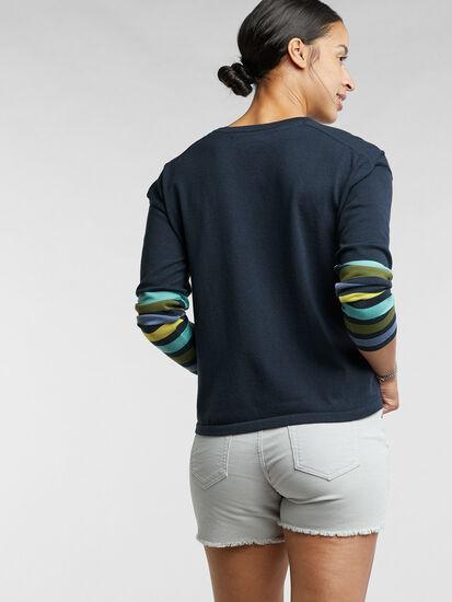 Synergy Crew Neck Sweater - Sleeve Stripe: Image 5