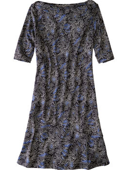 Buttah Boatneck Dress - Majorelle