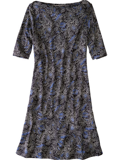 Buttah Boatneck Dress - Majorelle: Image 1