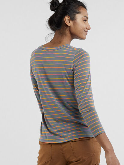 Aviatrix Long Sleeve Pocket Tee: Image 4