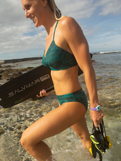 Lehua Bikini Bottom - Linear Leaf: Image 4