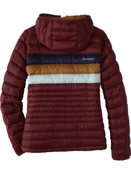 La Exploradora Hooded Down Jacket
