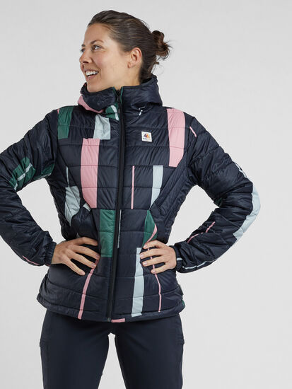Forscherin Puffer Jacket: Model Image