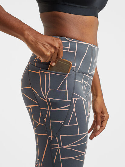 Mad Dash Reversible 7/8 Running Tights - Remodel: Image 3