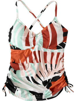 Capitola Underwire Tankini Top - Lost Coast