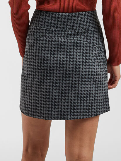 Passport Skirt - Houndstooth: Image 4