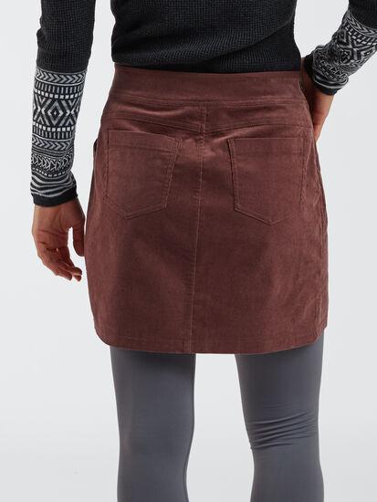 Detail Corduroy Skirt: Image 3