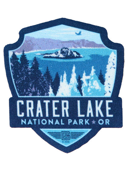 Crater Lake Contour Patch: Image 1