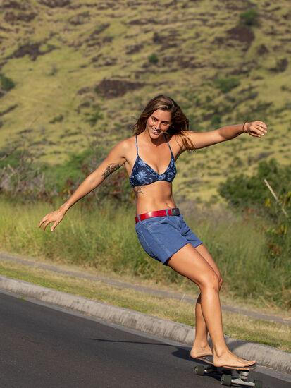 Bermuda Bikini Top - Haiku: Model Image