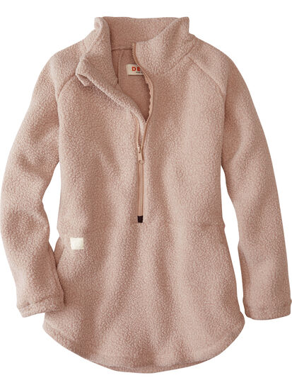 Small Batch 1/2 Zip Fleece Pullover: Image 1