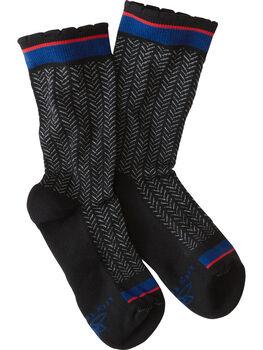 Trotters Compression Crew Socks - Bon Bon