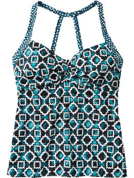 Pele Tankini Top - Twin Tiles
