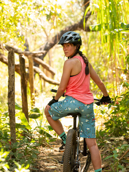 Gone Wild Rye Mountain Bike Shorts: Model Image