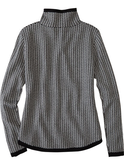 Barra Sweater - Herringbone: Image 2