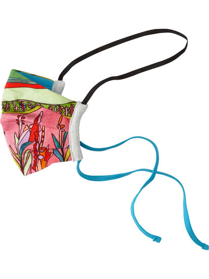 Galleria Reusable Face Mask - Wildflowers: Image 2