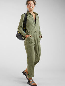 Rosie Utility Long Sleeve Jumpsuit
