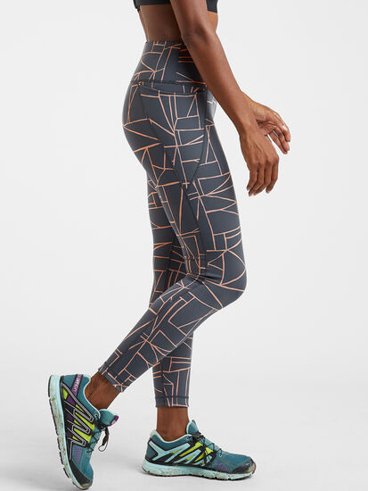 Mad Dash Reversible 7/8 Running Tights - Remodel: Image 5