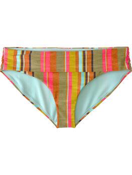 Dig It Bikini Bottom - Cacti Soleil Stripe