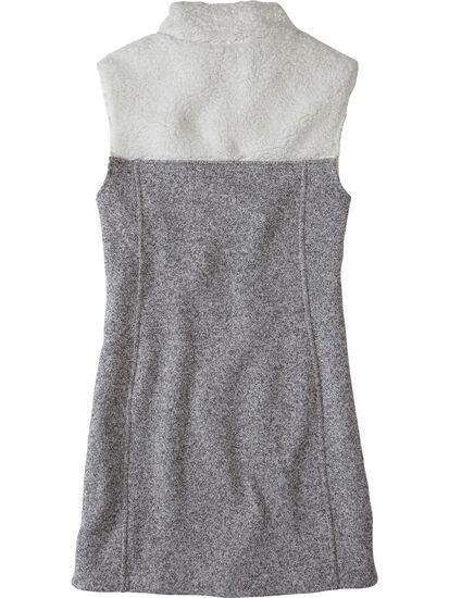 Callitrix Fleece Vest Dress: Image 2