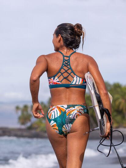 Namaka High Neck Bikini Top - Monstera: Image 4