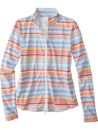 Keep Your Cool Sun Shirt - Multi Stripe: Image 1