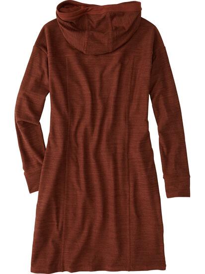 Hibernation Hooded Sweatshirt Dress: Image 2