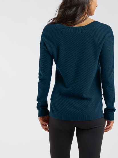 99 V Neck Sweater - Textured: Image 4