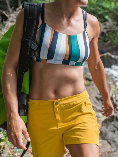 Mirage Bikini Top - Broken Stripes, , model