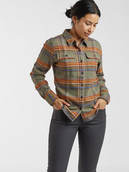 Timeless Flannel Long Sleeve Top: Image 3