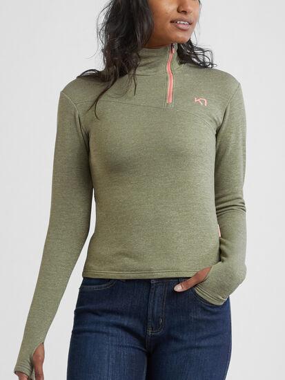Training Day Half Zip Pullover: Model Image
