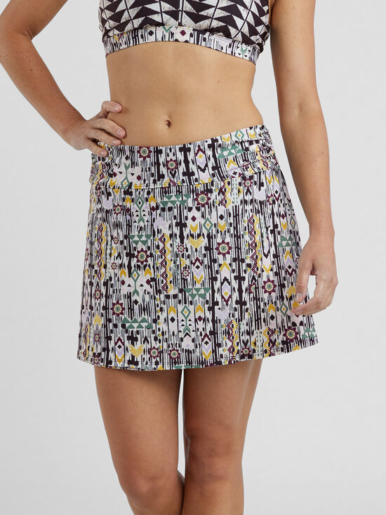 Womens Active Swim Skirts with Briefs High Waisted Bikini Skirt Bottom Sun Protection Ruffle Swim Skirt Skirted Skorts