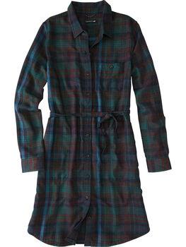Plaiditude Flannel Shirt Dress