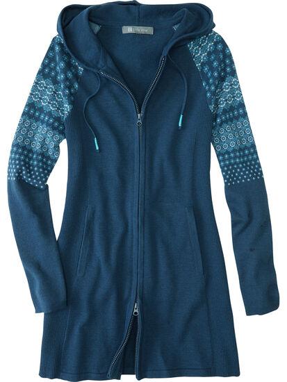 Woolicious Full Zip Sweater Tunic: Image 1