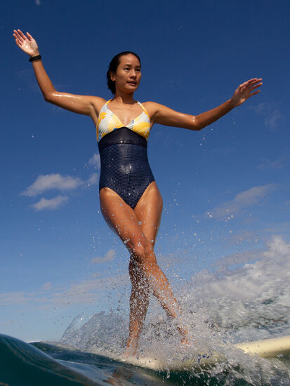 Rapid One Piece Swimsuit - Wahine: Model Image