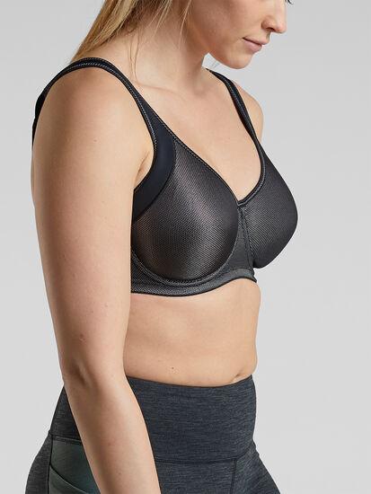 Seismic Underwire Sports Bra: Image 1