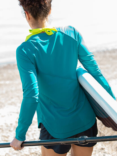 Sunbuster Long Sleeve Pullover - Solid: Image 3