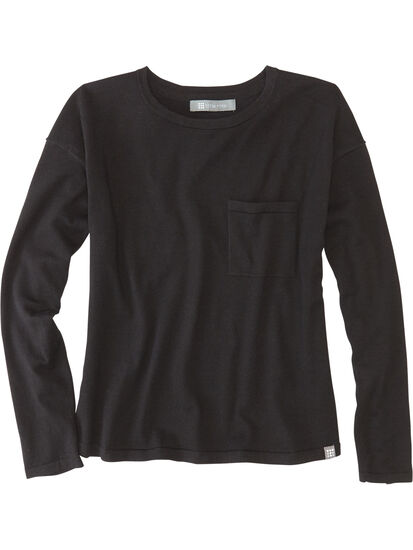 Synergy Crew Neck Sweater - Solid: Image 1