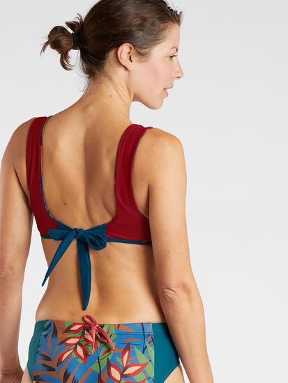Bahama Mama Reversible Bikini Top - Tropicalia: Image 4