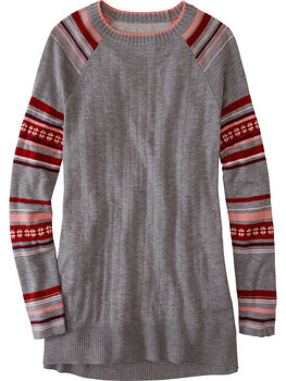 Mover-Maker Crew Neck Tunic Sweater