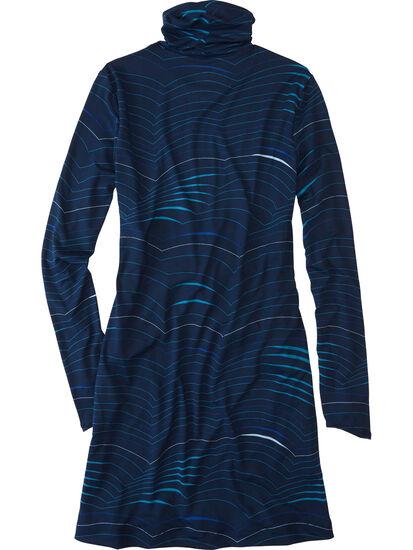 Getaway Long Sleeve Turtleneck Dress - Double Dutch: Image 2