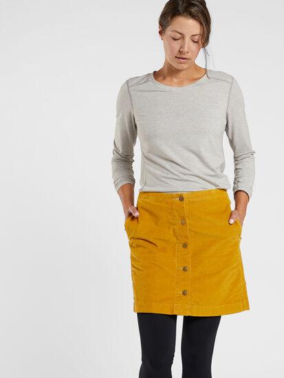 Cruise Corduroy Skirt: Image 3