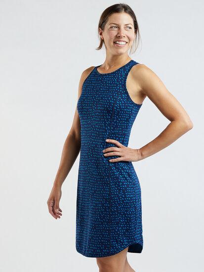 Alpha Racerback Dress - Batik Dot: Image 3