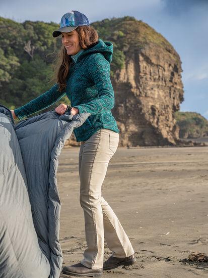 Clara Kent Corduroy Pants - Straight: Model Image