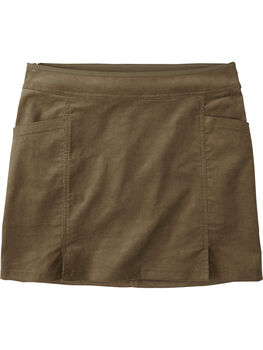 Detail Corduroy Skirt