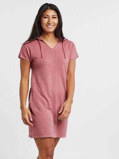 Epic Sweatshirt Dress: Model Image