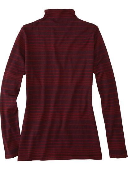 Synergy Mock Neck Sweater - Stripe: Image 2
