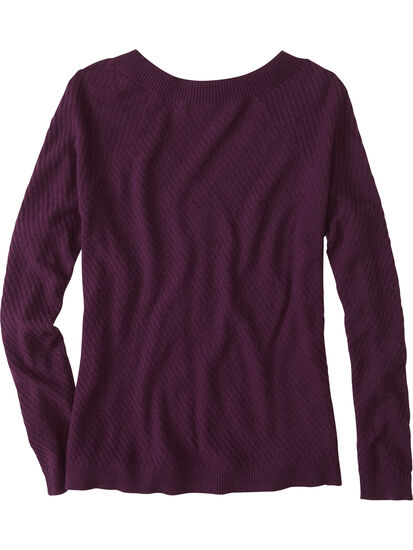 99 V Neck Sweater - Textured: Image 2