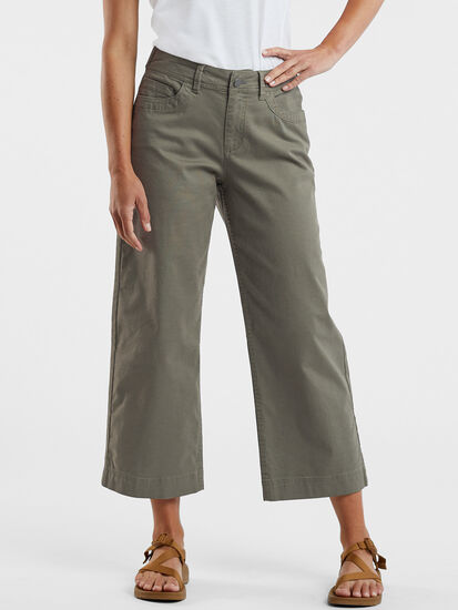 Miraculous Wide Leg Cropped Pants: Image 1