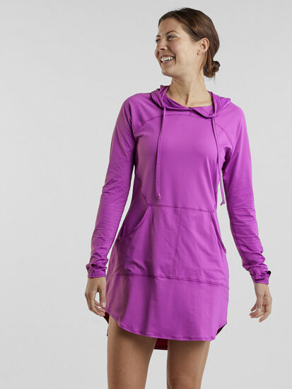 Blocker Hoodie Dress: Image 3